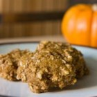 Pumpkin Protein Cookies - Spicy pumpkin cookies made with soy flour, flax seed, and SPLENDA(R).