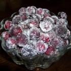 photo of frosted cranberries