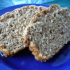 Oatmeal Whole Wheat Quick Bread - A hearty quick bread with oatmeal, whole wheat flour and just a little honey.