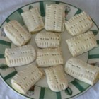"Italian Teething Cookies - In Italian, these cookies are called ""Ossi Dei Morti""  or bones of the dead.  They are hard cookies, but they are used for teething babies. Adults like to dip them in cappuccino."