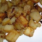 Mom's Brown Potatoes - These potatoes are different than the usual fries, but so good.