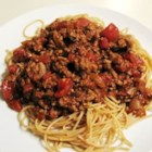 Cincinnati-Style Chili - This chili has just about everything. Well, the meat is burger-style crumbles, but there's onion, garlic, hot sauce and  a few surprises like cinnamon, cocoa powder, and allspice. Serve over hot cooked spaghetti and top with shredded cheese, if desired.