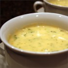 Broccoli Cheese Soup - This kid-pleasing, creamy broccoli cheese soup recipe is ready in less than 45 minutes.
