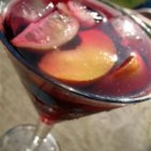 Sangria by the Pros - I found a good sangria recipe and headed to the liquor store to purchase the alcohol. In line, ahead of me, was a man who said he has been a bartender for twenty years now, and that the recipe needed a few touch-ups if I wanted to make it like the Pros. So, here is what he professed to me, muchos thanks to the other submitters for their delicious versions.