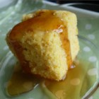 Golden Sweet Cornbread - If you like sweet cornbread, this is the recipe for you! My mom made this for me as a child, and now it's my family's favorite.