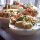 Perfect Deviled Eggs - Hot sauce and horseradish jazz up these delicious deviled eggs.