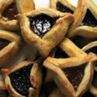 Great-Grandmother Bubbie's Hamantaschen - These little prune- and apricot-filled cookies are traditional for the Jewish holiday Purim.