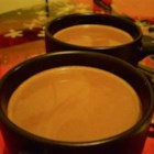 Delicious Vegan Hot Chocolate - Finally, a vegan hot chocolate recipe that actually tastes good! For best results, use plain soy milk.
