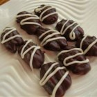 Chocolate Covered Pecans - Pecan halves are completely covered in chocolate. An easy and delicious treat that also makes a great gift.
