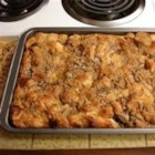 Bread Pudding II - This bread pudding is very versatile and lovely in texture. Christmas time can inspire a bread pudding by simply substituting a good-quality eggnog for the milk (or part of it). Also add a pinch of nutmeg and mace to produce a sumptuous holiday dessert. Otherwise, enjoy this just as it is with a dollop of whipped cream.