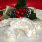Vanille Kipferl I - This recipe is known in America as almond crescents. I converted the measurements and translated this recipe that has been in my family for generations.