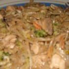 Better-Than-Takeout Thai Stir-Fry - This is a really easy recipe for stir-fry and a quick way to cook up some vegetables. This recipe uses fresh broccoli and pre-packaged chicken to make it easier.