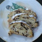 Old Fashioned Stollen - A festive, traditional German holiday bread with raisins and nuts.
