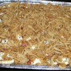 America's Best Buffet Casserole - I had to cajole this recipe out of Chef Jarvil Aluban. It was worth it! No one can resist this wacky medley of potatoes, sausage, cheese and mushrooms.