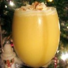Eggnog I - Sugar and milk are beaten into egg yolks over heat and then chilled before adding rum and whipped cream in this recipe for the traditional holiday beverage.