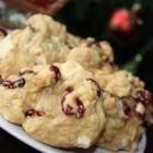Linda's Cranberry Cookies - Dried cranberries are delightfully tart against the sweetness of the white chocolate chips in these moist and tender cookies.