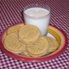 Peanut Butter Sandwich Cookies - A very rich, very addicting cookie.  Tastes best when cookies are stored in a tight container with several pieces of bread at the bottom.  You may need a little extra milk to get the filling to the right consistency.