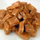 Caramels I - Sugar, corn syrup, cream, butter and vanilla are the ingredients in these traditional caramel candies.