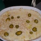 Cheesy Jalapeno Corn - This casserole with corn, jalapenos, and cream cheese is similar to another one on this site, but much better. This side can go with any Mexican dish and many more.