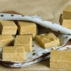 Brazilian Peanut Fudge - This simple and quick fudge requires only peanuts, tea biscuits, sweetened condensed milk, and a little bit of sugar.