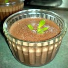 Blender Chocolate Mousse - With the easy pulse of an electric blender, this rich, brandy-enhanced chocolate mousse can be whipped up in a jiffy. Serve chilled. This recipe contains raw eggs. We recommend that pregnant women, young children, the elderly and the infirm do not consume raw eggs.