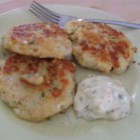 Cod Fish Cakes - Delicious fish cakes made with cod, potatoes, onion, butter, and parsley! You can substitute salmon for cod if you would rather make salmon cakes.