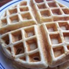 Banana Waffles - Delicious waffles with banana cooked inside the waffle!
