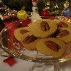 Praline Cookies - This recipe makes a good cookie, but rather rich!