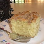 Jewish Coffee Cake I - A moist cake with a buttery, cinnamon, and sugar topping.
