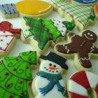 Soft Sugar Cookies V - These cookies, which contain sour cream, are the softest sugar cookies ever!  I find that if I roll them a little thick and do not overbake, they are best and stay moist.  Use whatever cookie cutters that suit the occasion!