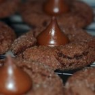 Jeanne's Chocolate Kiss Cookies - This recipe is fast and easy to make. It's a true chocolate lover's dream cookie.