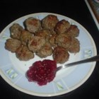 Swedish Meatballs III - These Swedish meatballs are seasoned with nutmeg and allspice, and cooked in a white sauce made with fresh dill.