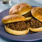 Iowa Maid-Rites - Onion flavored ground beef with broth is served on hamburger buns in this Iowa classic sandwich. I came up with my own version of Iowa MaidRites which also are called 'loose meat' sandwiches. Very versatile, leftover beef can be used for spaghetti or taco filling, or it can be frozen for later use.