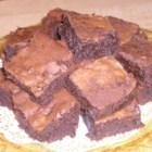 Grand Marnier Brownies - The addition of orange liqueur to chocolate brownies makes this recipe one for the adults.