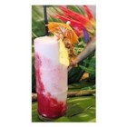 Lava Flow - An explosion of strawberry, coconut, and banana climbs up the sides of the glass and into your mouth!