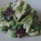 Celery Salad - A cool, crisp salad adds crunch and contrast to any menu. You can also use dried cranberries and walnuts.