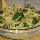 Linguine with Spinach and Brie