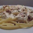 Really Creamy Fettuccine Alfredo - Basil and nutmeg add a subtle difference to this Alfredo.