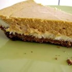 Double Layer Pumpkin Cheesecake - A great alternative to pumpkin pie, especially for those cheesecake fans out there.