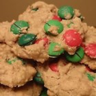 Oatmeal MM Cookies - This is one of my favorite cookie recipes.  The almond extract gives the cookie a unique flavor that makes them, in my opinion, a little better than the rest.  Because I like these cookies so much, I usually make them twice their normal size.