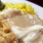 Old Fashioned Brown Gravy - This old-fashioned brown gravy can be made with drippings from roast beef, pork, chicken, or even turkey. Always turns out wonderful.