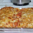 Emily's Manicotti - A very tasty, meaty recipe for manicotti lovers.