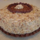 Coconut Pecan Frosting II - This frosting is great on many cakes, not the least of which is German Chocolate Cake.