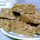 Peanut Butter Bars VI - Sweet, chewy peanut butter bars made with crushed cornflakes.