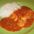 Shrimp Creole I - This is a delicious, very easy, quick but moderately expensive recipe. Everyone I've ever fixed it for absolutely loves it!  I've also included crab and/or scallops in this recipe.  Serve over rice.