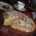 Vaselopita - Greek New Years Cake - Traditional Greek New Years Day bread.  Served as a coffee cake for breakfast.  Also the person who receives the quarter inside gets good luck for 1 year!