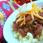 Flatlander Chili - This is a good red bean and ground beef chili with lots of chili powder and plenty of herbs!