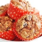 Morning Glory Muffins I - This muffin has a little bit of everything - carrots, raisins, apple butter, wheat germ, nuts. A perfect start for your day!