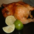 Beer Roasted Lime Chicken