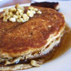 Grain and Nut Whole Wheat Pancakes - This is the BEST pancake recipe I've tried - nutty, moist, and tasty pancakes!